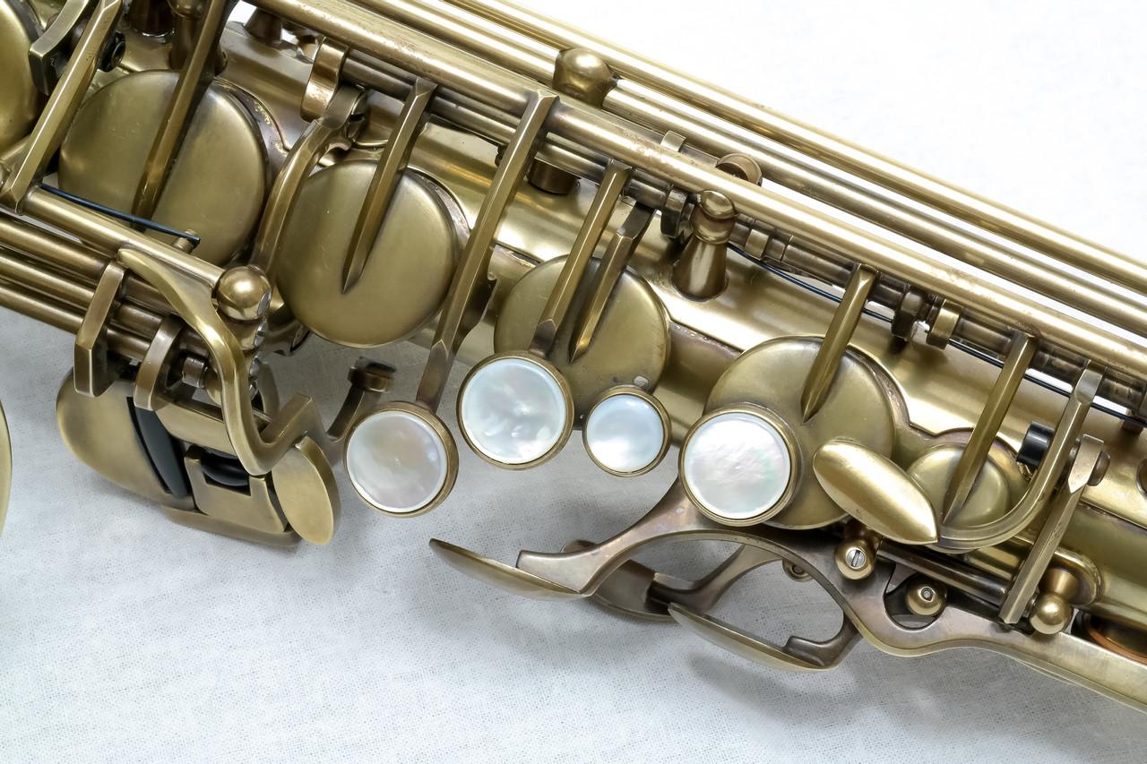 signature custom RAW xs alto saxophone 10