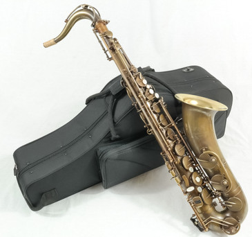 SIGNATURE CUSTOM RAW TENOR SAXOPHONE 1