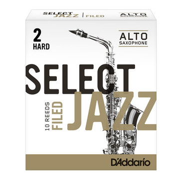 D'ADDARIO SELECT JAZZ FILED ALTO SAXOPHONE REEDS