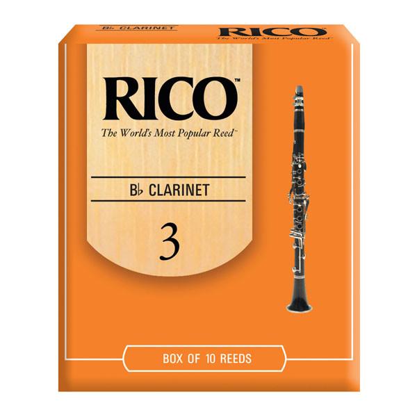 RICO B FLAT CLARINET REEDS