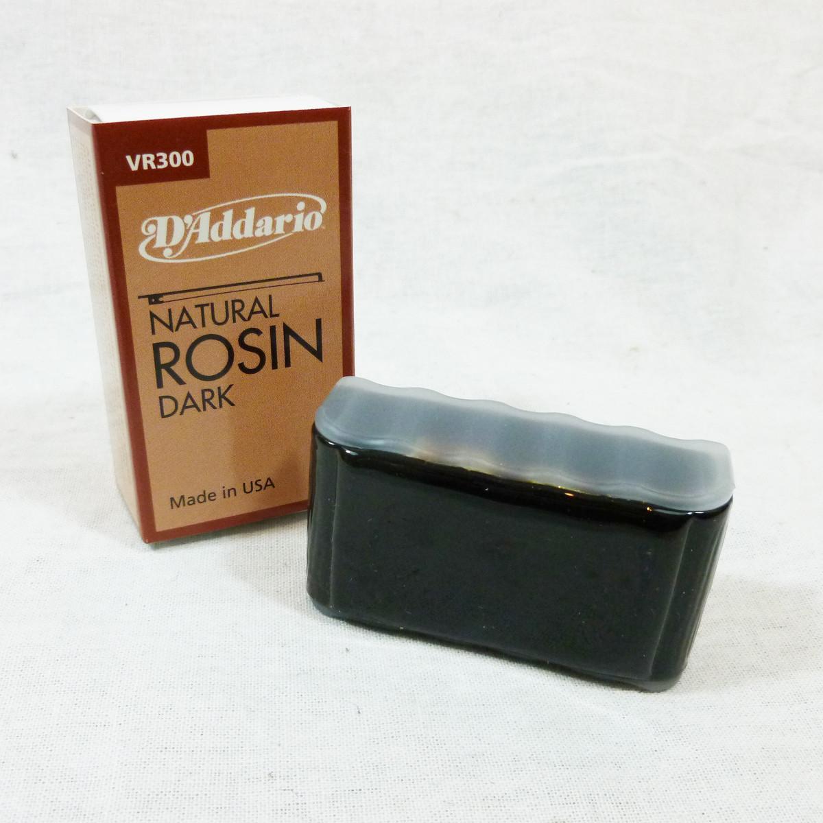 D'Addario Natural Dark Rosin