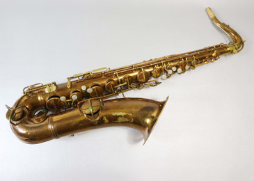 CONN NEW WONDER / CHU BERRY C.1920 TENOR SAX - REFURBISHED