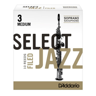D'ADDARIO SELECT JAZZ FILED SOPRANO SAXOPHONE REEDS
