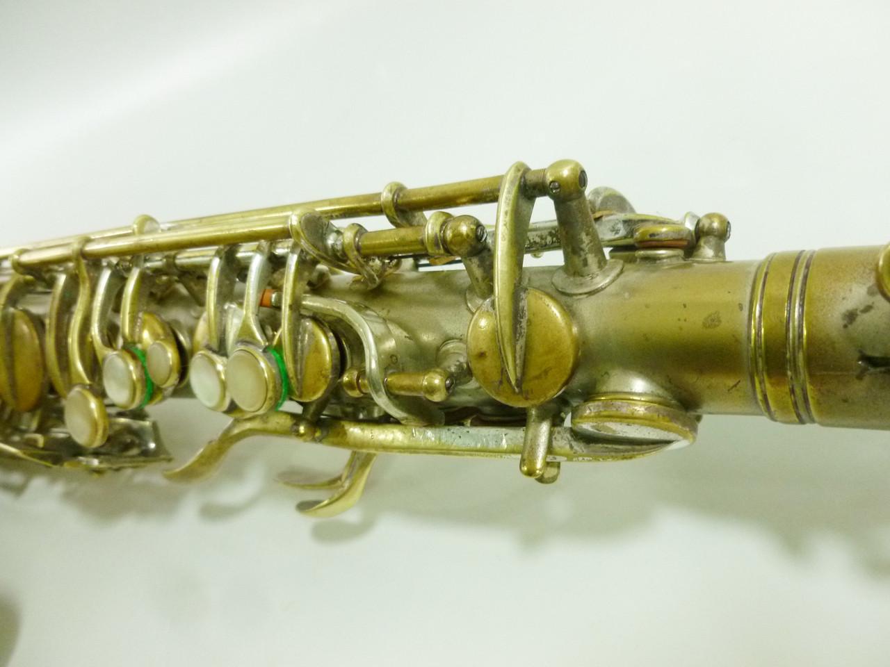 CONN NEW WONDER II (CHU BERRY) C. 1926 ALTO SAX - REFURBISHED 5