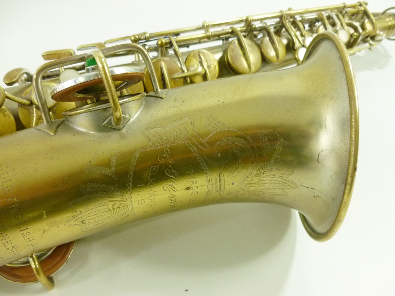 CONN NEW WONDER II (CHU BERRY) C. 1926 ALTO SAX - REFURBISHED 6