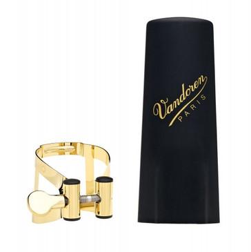 VANDOREN M/O TENOR SAX GOLD LIGATURE & PLASTIC CAP