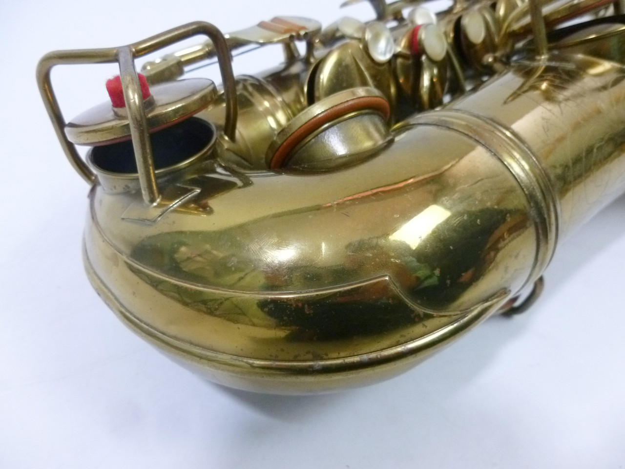 CONN TRANSITIONAL ALTO SAX C.1929 - REFURBISHED 6