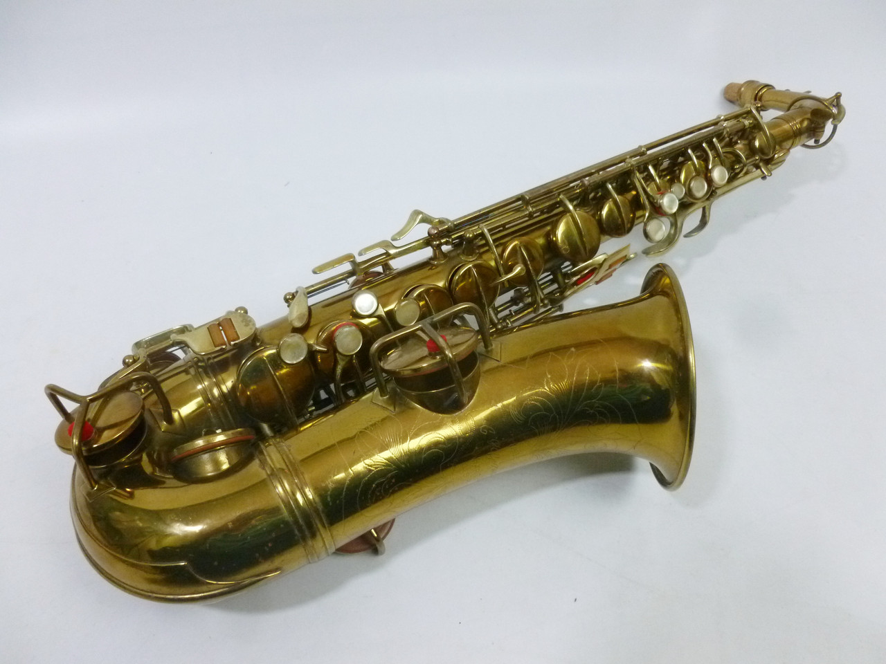 CONN TRANSITIONAL ALTO SAX C.1929 - REFURBISHED 7