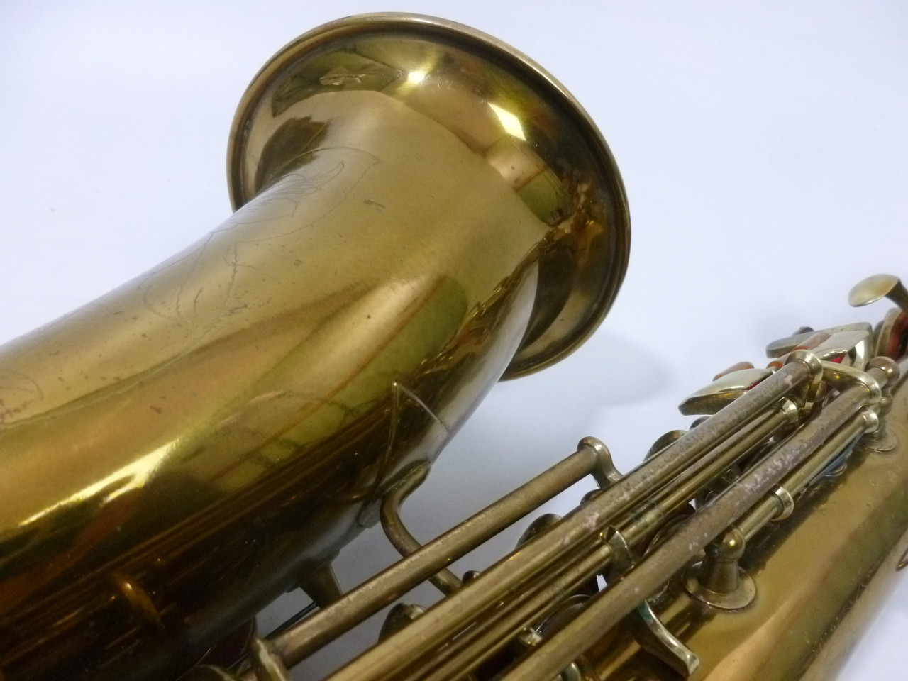 CONN TRANSITIONAL ALTO SAX C.1929 - REFURBISHED 8