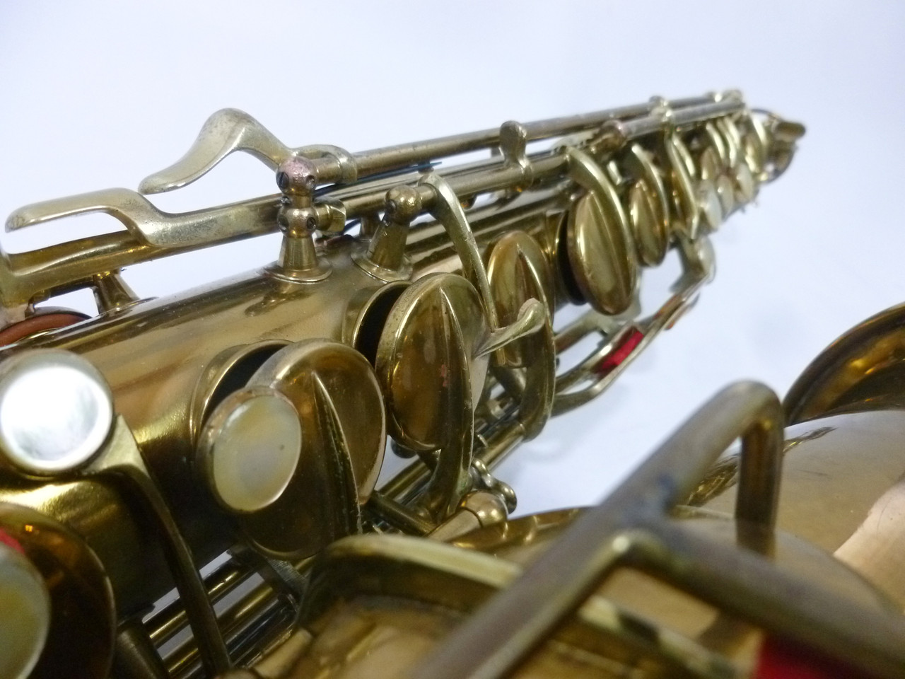 CONN TRANSITIONAL ALTO SAX C.1929 - REFURBISHED 9