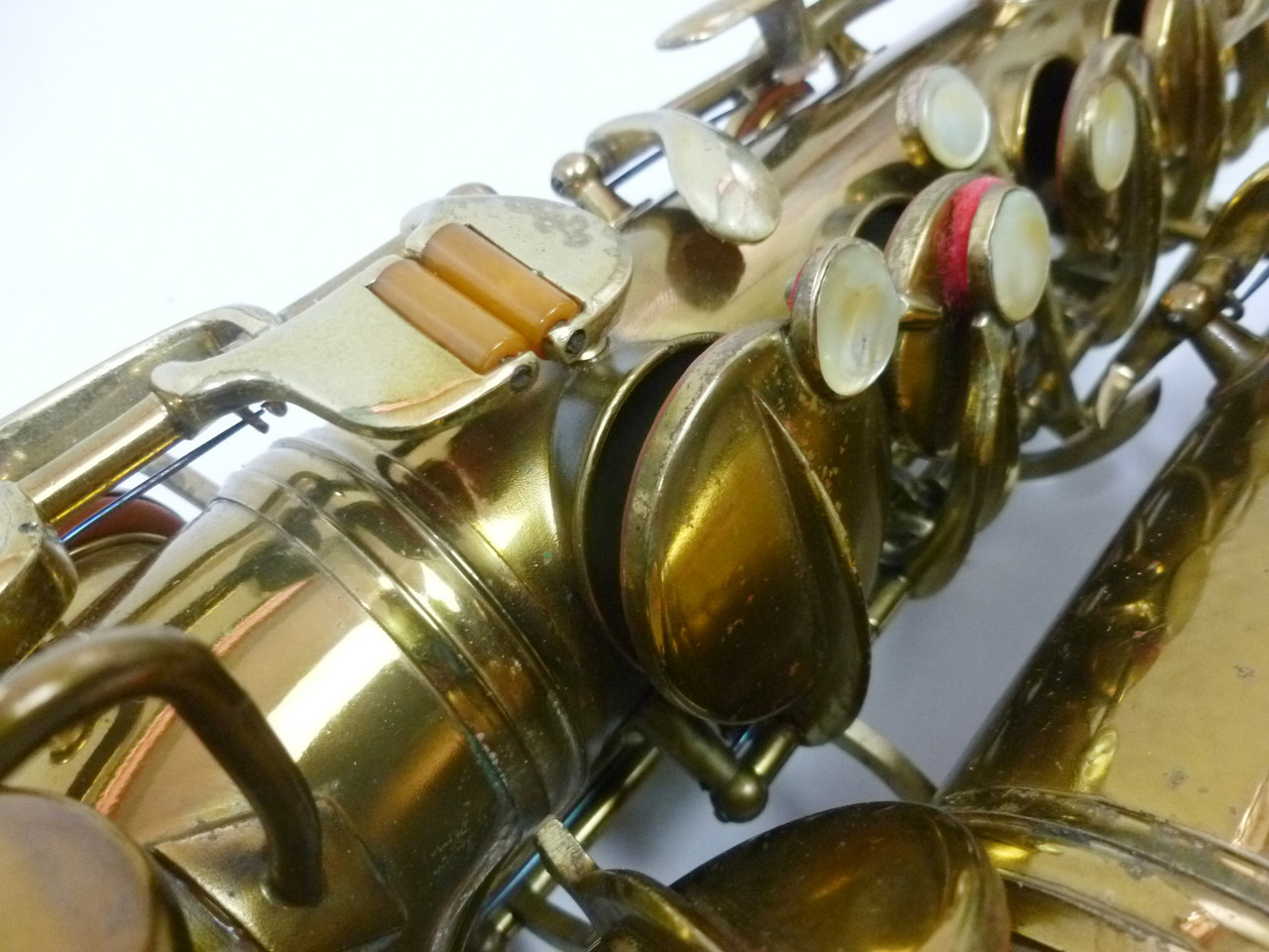 CONN TRANSITIONAL ALTO SAX C.1929 - REFURBISHED 10