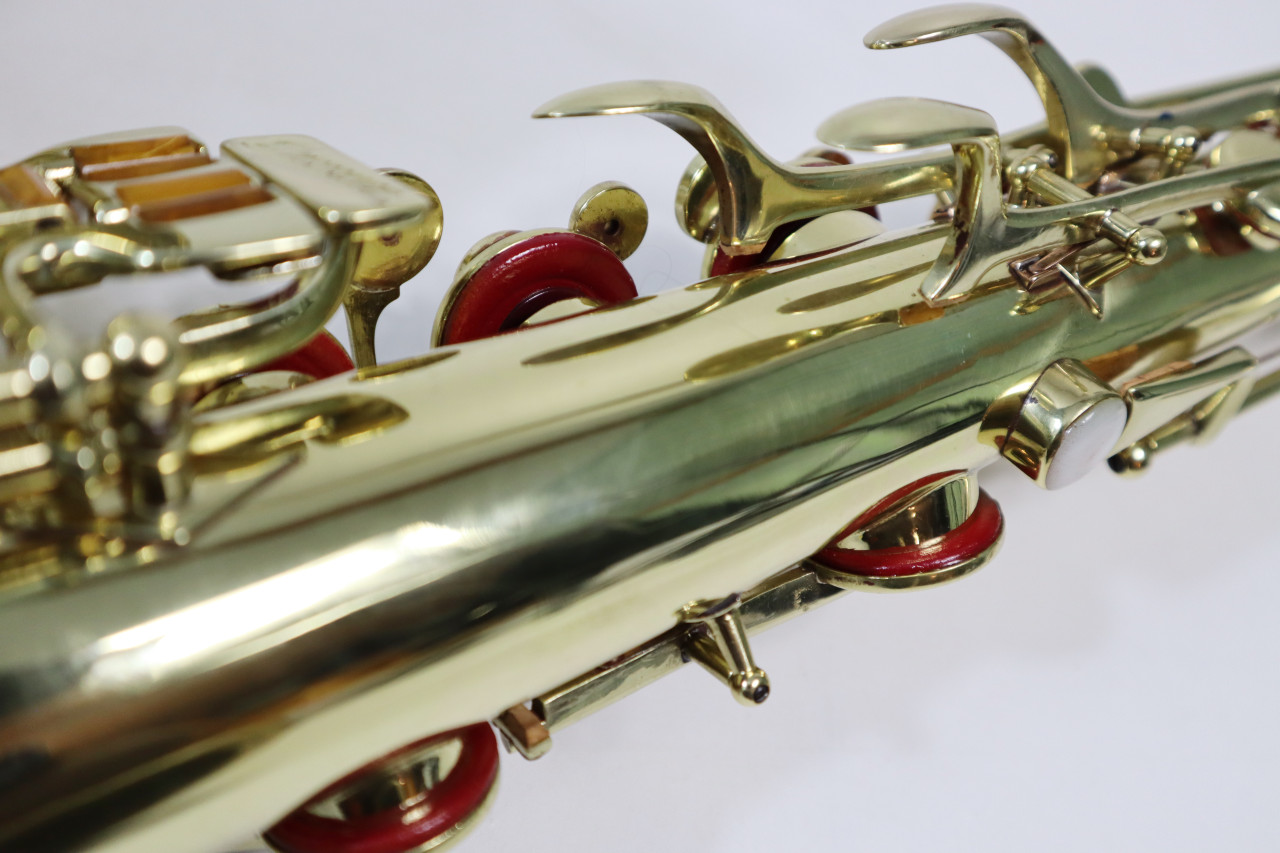 "BUESCHER ARISTOCRAT ""BIG B"" TENOR SAX c. 1945 - REFURBISHED 6"