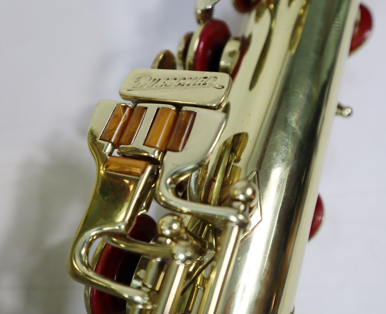 "BUESCHER ARISTOCRAT ""BIG B"" TENOR SAX c. 1945 - REFURBISHED 7"