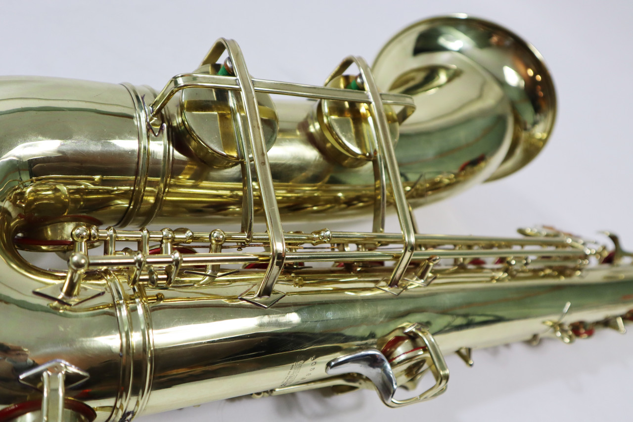 "BUESCHER ARISTOCRAT ""BIG B"" TENOR SAX c. 1945 - REFURBISHED 8"