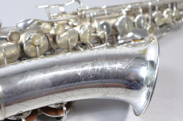 BUESCHER ARISTOCRAT SERIES I C. 1936 ALTO SAX - REFURBISHED 5