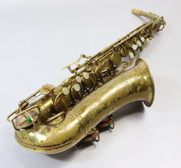 BUESCHER ARISTOCRAT SERIES 1 ALTO SAXOPHONE c.1936 - REFURBISHED