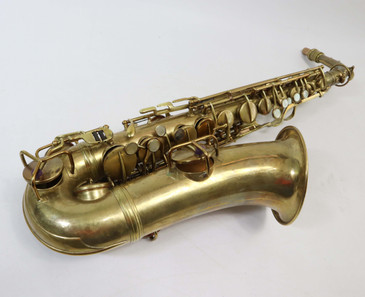 CONN NEW WONDER II ALTO SAX c. 1925 - REFURBISHED