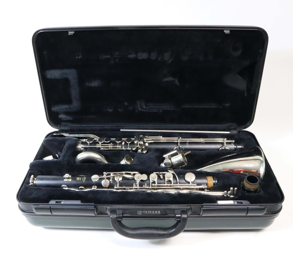 YAMAHA YCL-221IIS BASS CLARINET - RECONDITIONED