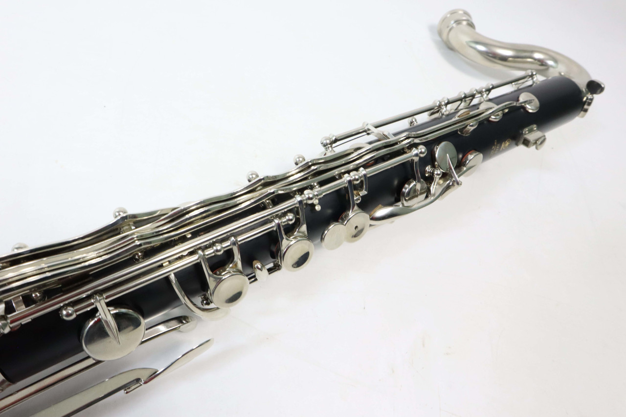 YAMAHA YCL-221IIS BASS CLARINET - RECONDITIONED 5