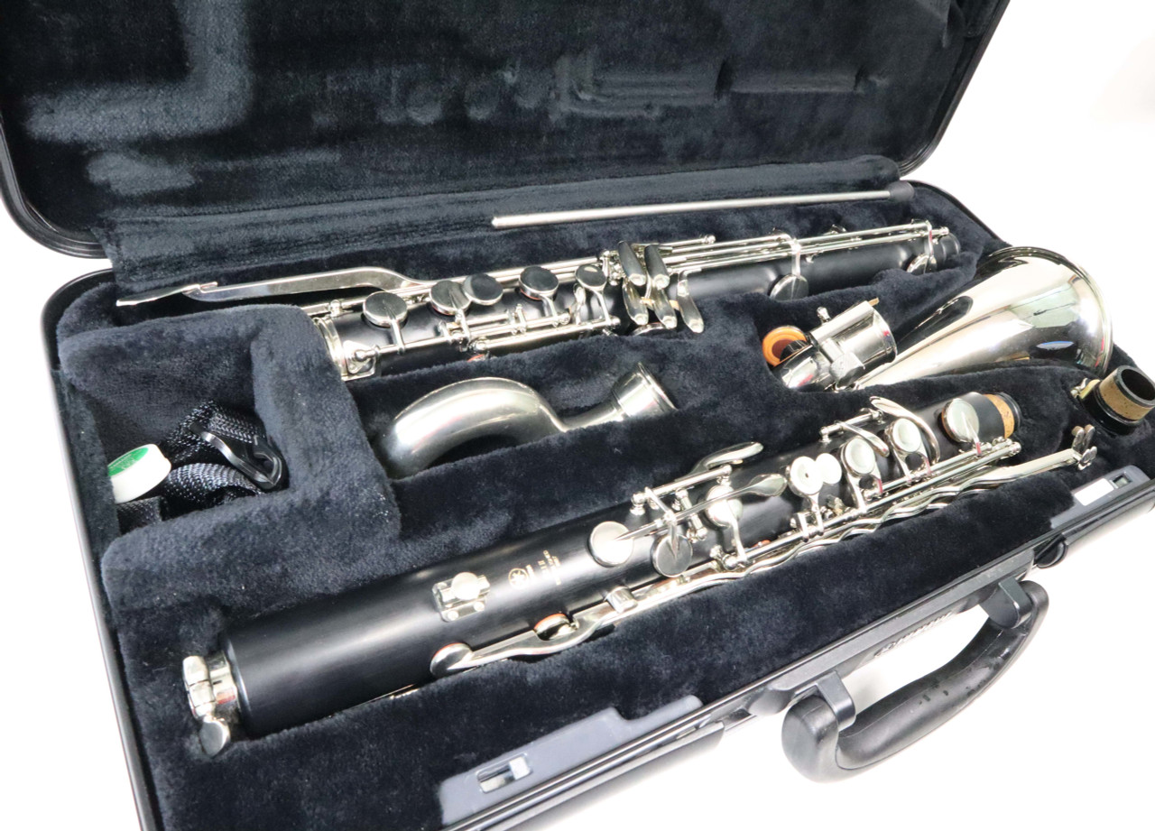YAMAHA YCL-221IIS BASS CLARINET - RECONDITIONED 2