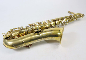 CONN GOLD PLATED NEW WONDER II TENOR SAXOPHONE c.1926 - REFURBISHED