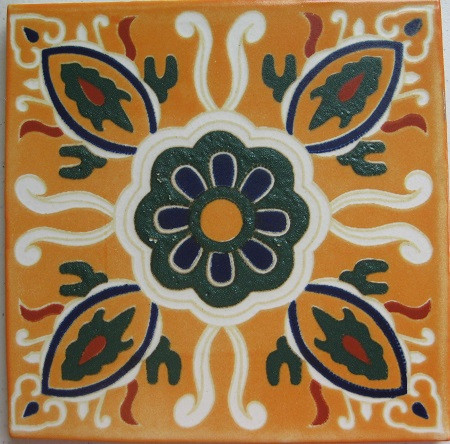 Mexican decorative white bisque tile with matte finish.Due to the nature of this product, they may be irregular in shape, size, dimension, texture, and color.Minor chipping and crazing are inherent in this product.