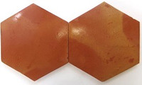 "12"" & 8""-Saltillo Hexagon-Natural-Sealed"