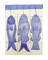 Arte Culinario 12 4x4 tile mural