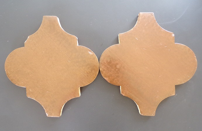 Espanola pattern with a chocolate stain and matte sealed