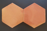 12x12-Saltillo-Hexagon-Antique Birch Stained (Clearance) (214 Pcs)
