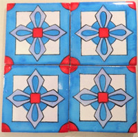TOld (Talavera Old) in blue, red & white 4x4