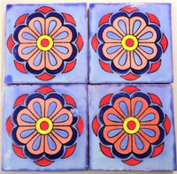 TOld (Talavera Old) in blue, red & yellow 4x4