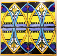 TOld (Talavera Old) in blue, yellow, & black 4x4
