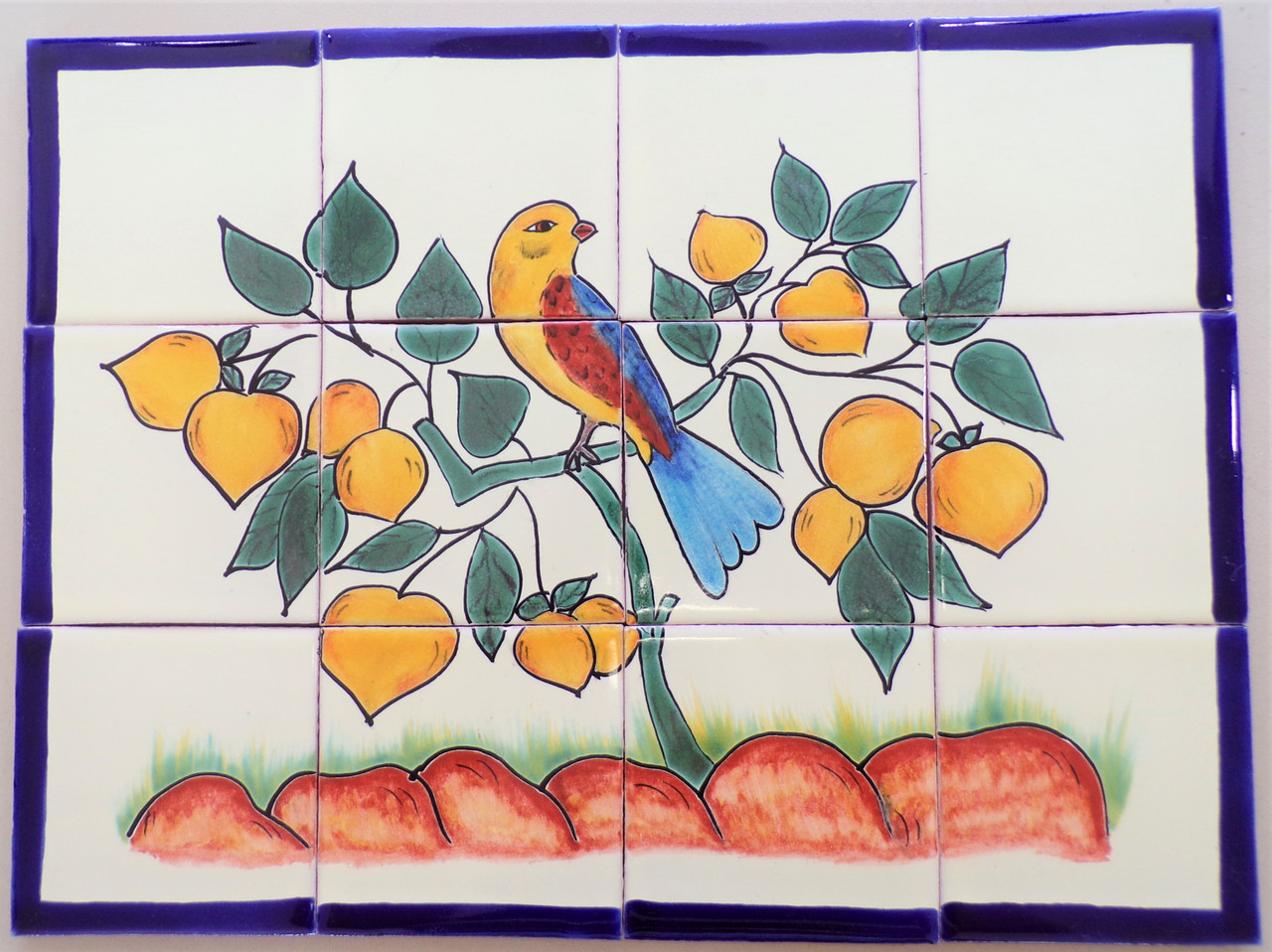 Pajaro Cantor 12 piece 4x4
