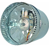 Suncourt DB306P Inductor In-Line 2-Speed Duct Fan