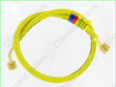 "Yellow Jacket 18136 PLUS II  3/8"" Charging Hose- 36"""