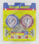 Yellow Jacket 42001 Series 41 Manifold Only R-22/404A/410A