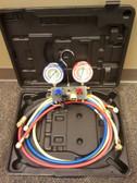 "Mastercool 96361 4-Way Aluminum Manifold Gauge Set w/ 60"" Hoses"