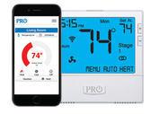 Pro1 IAQ T855i Wifi 4H/2C Programmable Thermostat