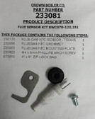 Crown 233081 Flue Sensor Kit BWC 070-120,151
