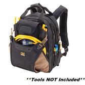 Custom Leather Craft CLC 1134 HVAC Backpack - 44 Pockets