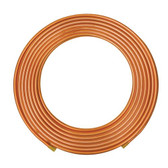 1/2 OD x 50 ft Refrigeration HVAC Soft Copper Tubing Coil Roll USA MADE