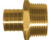 """1/2"""" PEX x 3/4"""" MPT Brass Male Adapter"""