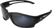 Edge Eyewear TSK21-G15-7 Kazbek Black Safety Glasses w/ Polarized G-15 Lens