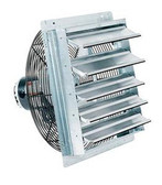 "10"" Industrial Exhaust Shutter Fan Wall Mount Garage Shop Barn 1/30 HP"