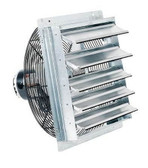 "FanTech 2SHE1621 16"" Shutter Mounted Exhaust Fan"