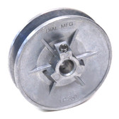 DIAL 6124 3-1/4 x 1/2 In Zinc Variable Motor Pulley