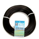 Dial 4321 1/4 in OD x 100 ft Black Poly Water Tubing