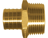 "(50) 3/4"" PEX x 1/2"" MPT Brass Male Adapter"