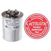 Rheem 43-25133-34 Dual Round Capacitor 80 + 10 MFD x 370V